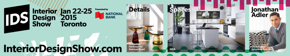 Interior Design Show 2015 Advertising