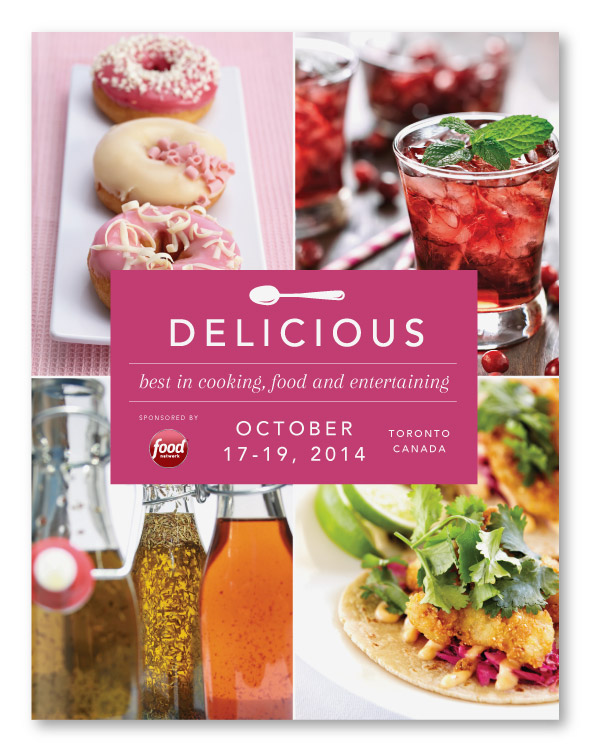 Delicious Food Show / Prospectus Design