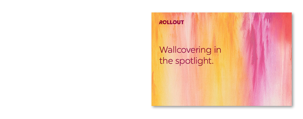 Rollout / handout design