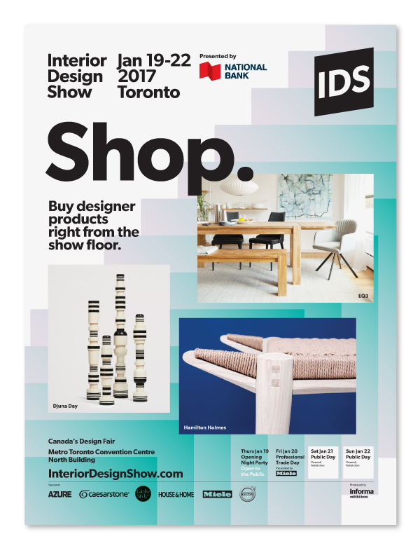 Interior Design Show 2017 Toronto / advertising