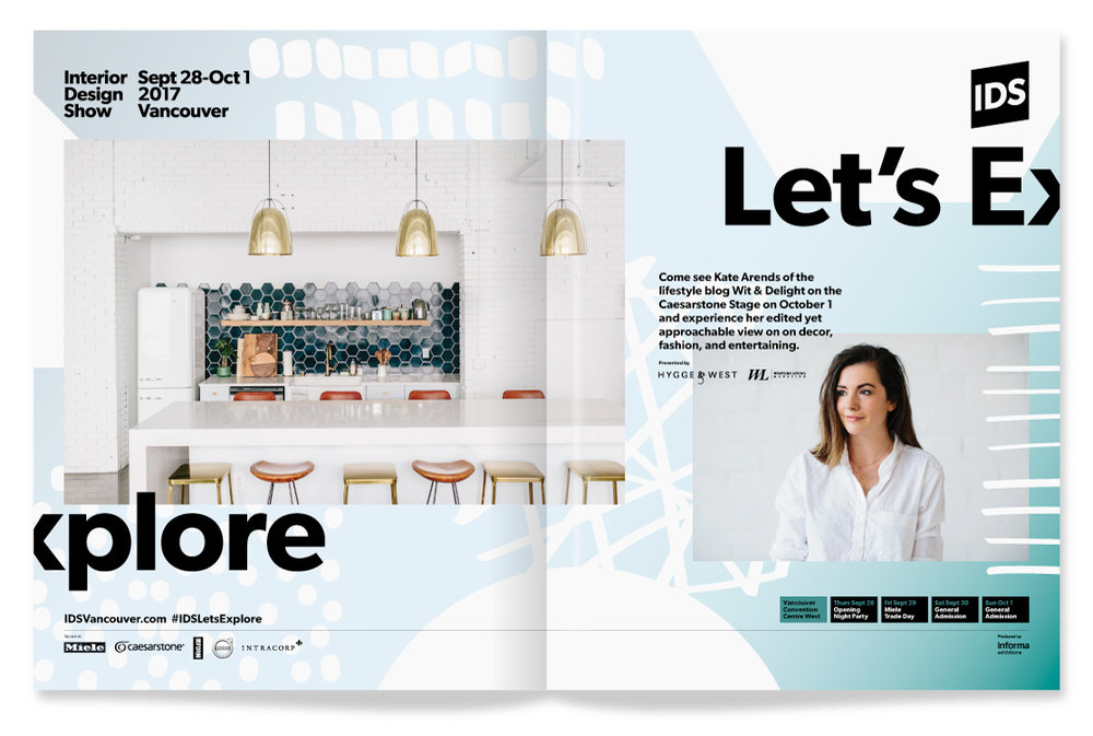 Interior Design Show 2017 Vancouver / Magazine Advertising