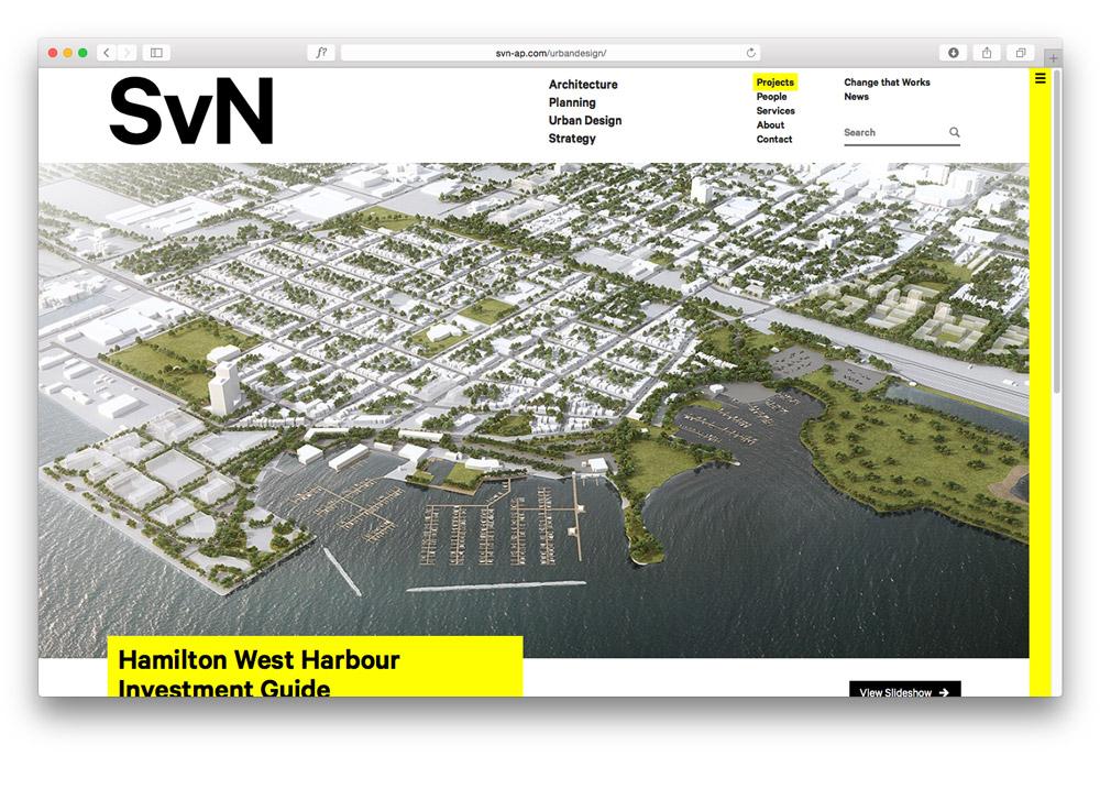 SvN / Website