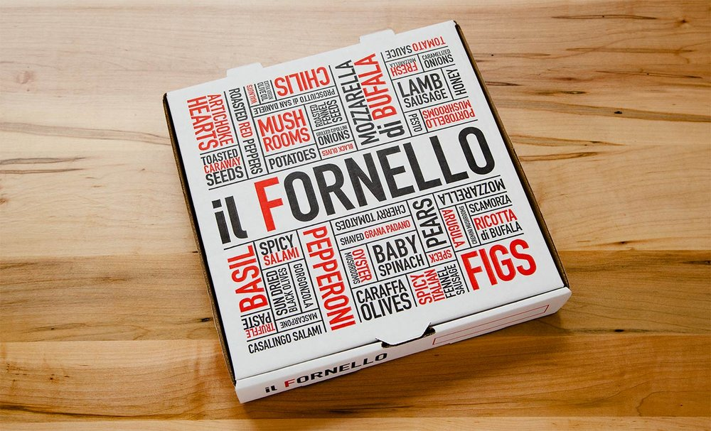 Il Fornello / Packaging
