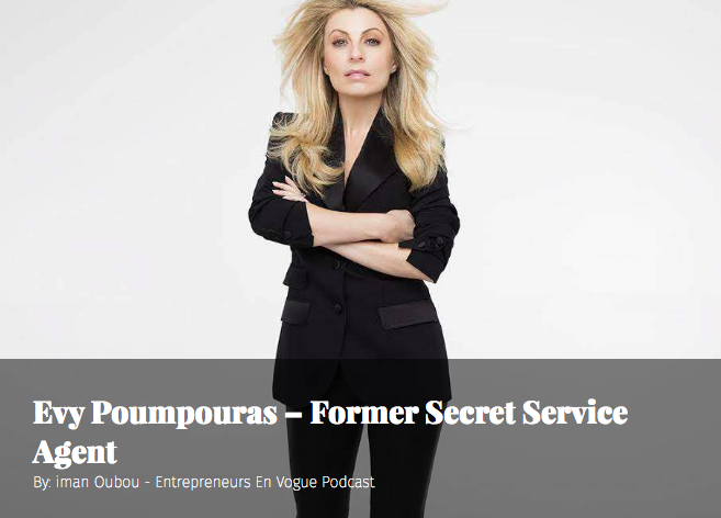 swaay - Podcast: Evy Poumpouras – Former Secret Service Agent
