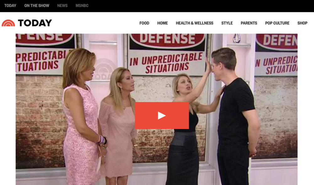 the today show - Self defense techniques