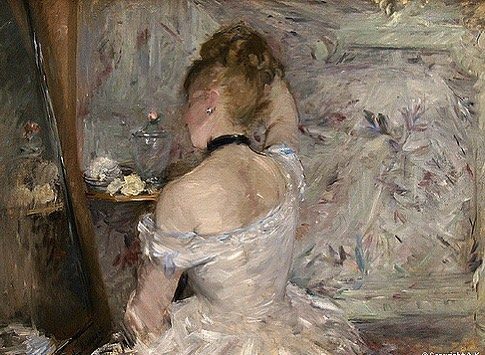 Woman At Her Toilette, paintress Berthe Morisot (1975) ❤️ #inspo #laviniaandco . . . . . #berthemorisot #painting #artlover #beauty #beautiful #cute #pursuepretty #sunday #instagood #verilymoment #dresser #lovely #art #losangeles