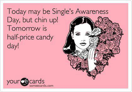 Single Awareness Day Candy