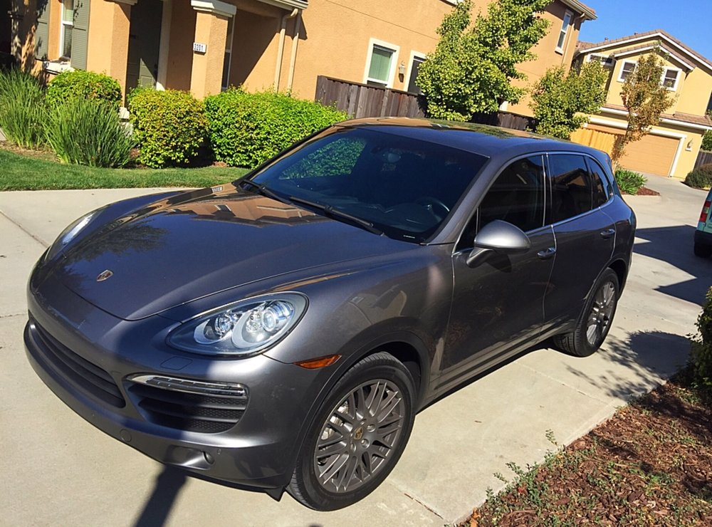 Porsche Windshield Tint