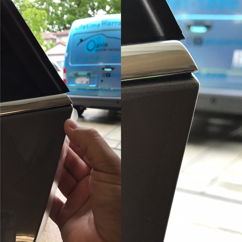 Door Edge Paint Protection Film