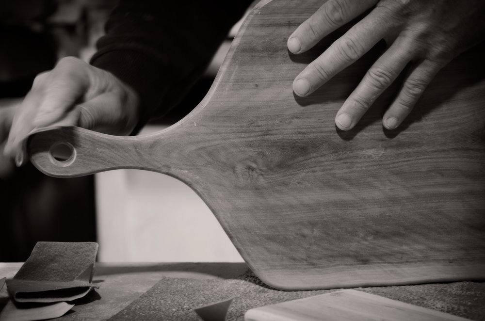 OUR PHILOSOPHY  - Our designs highlight and showcase the beauty of Western Australian timber, by hand crafting each piece from a single piece of Western Australian timber.