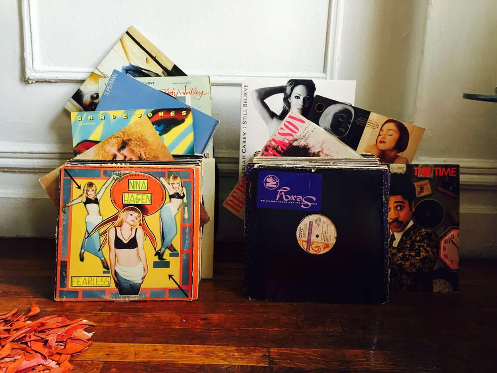 Vinyl credit: Record Runner - 5 Jones St, Village, NYC