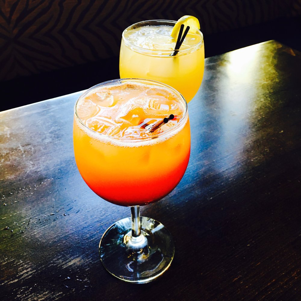 Rum Punch, Ginger Margarita (comes from our Sorrel)   ©  2016 CUR8 Home, All Rights Reserved