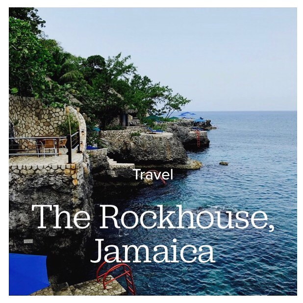 New Blog Post: Rockhouse Hotel (@rockhousehotel) 🇯🇲 I had the pleasure of staying here last month. It was EVERYTHING! If you've never been, read my review to see every reason why you should go!! Link in my bio 👆🏾 #cur8home #blackgirlswhoblog #blackgirlstravel #rockhousehotel #jamaica #negril