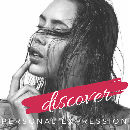 Discover - personal expression #consciousbeauty #intuitivebeauty #hairstylist