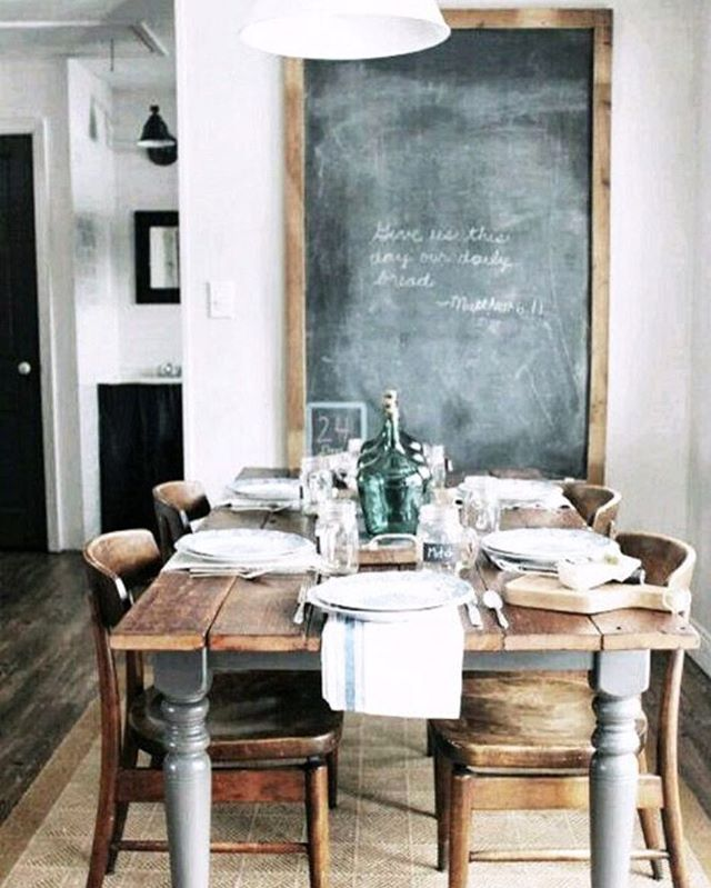 New on the blog: Vintage Modern Schoolhouse Decor inspiration and product round-up. 📷 via @sfgirlbybay