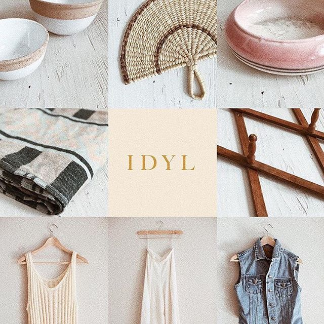 My friend has just launched the most stylish pre-loved clothing and home goods online boutique. Check it out at shopidyl.com