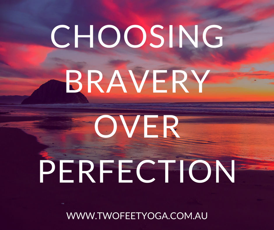 THE expression sessions - choosing bravery over perfection