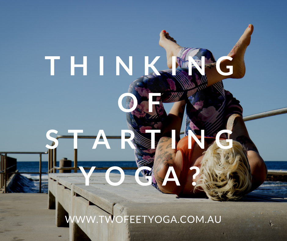 thinking of starting yoga?