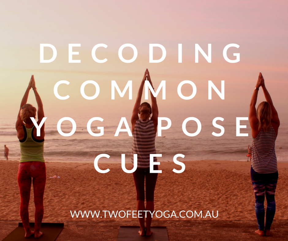 decoding common yoga pose cues