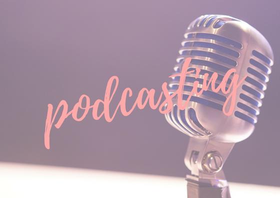 podcast setup two feet creative