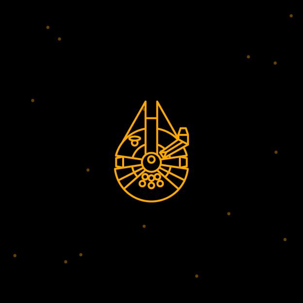free icon set Star wars