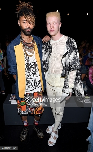 Shaun Ross + NY Fashion Week