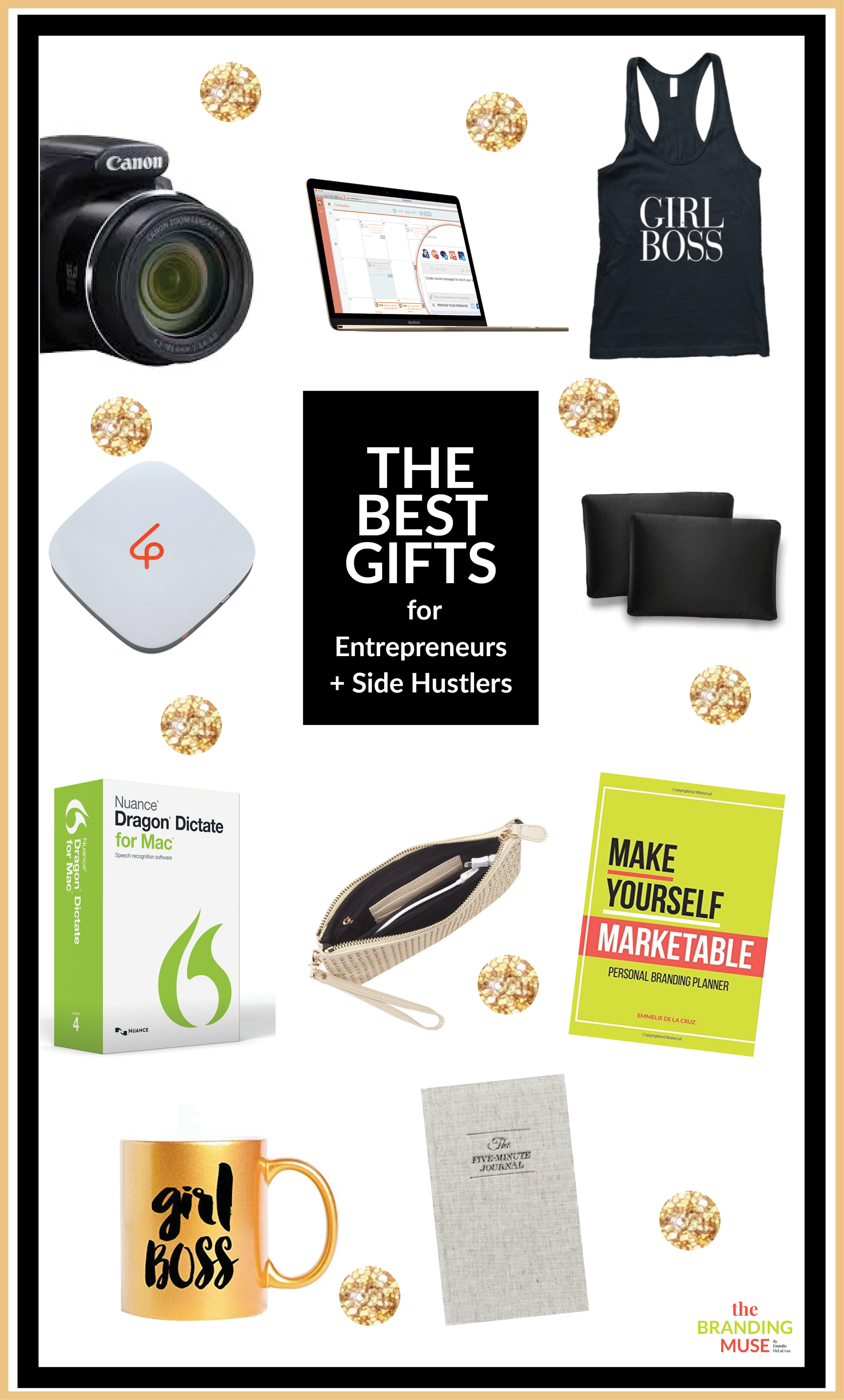 2015 Gift Guide FOR ENTREPRENEUERS, freelancers, side hustlers and girlbosses.