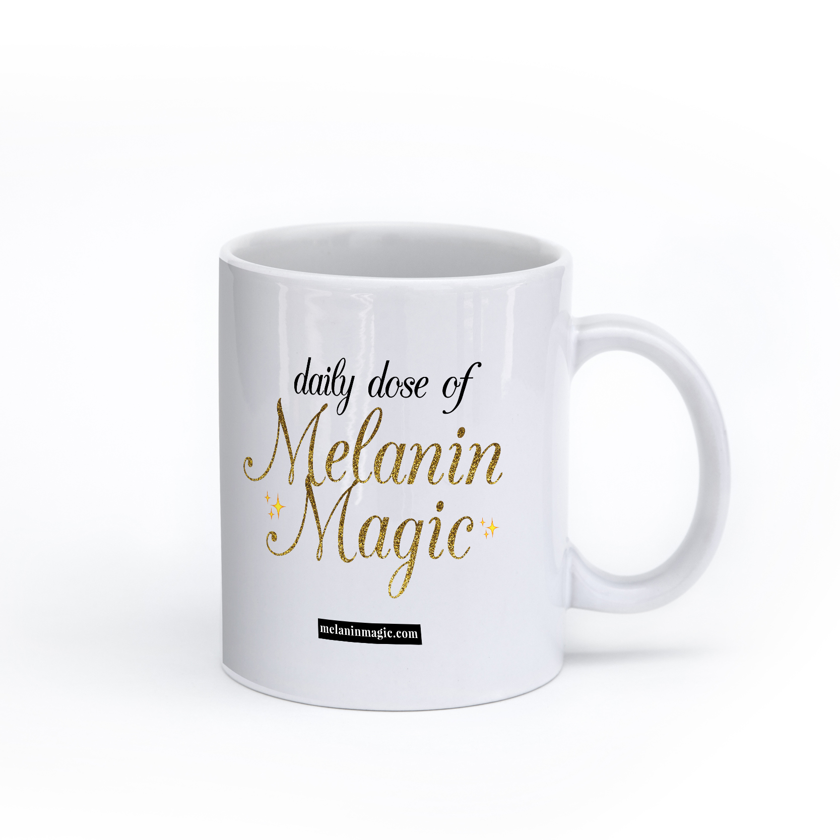 Melanin Magic Mug mockup
