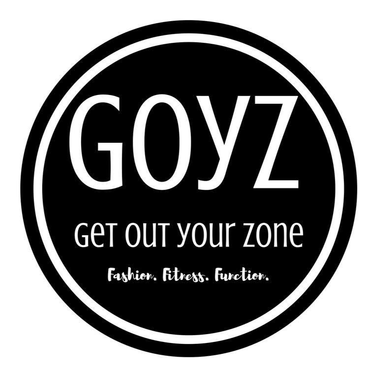 get out your zone logo