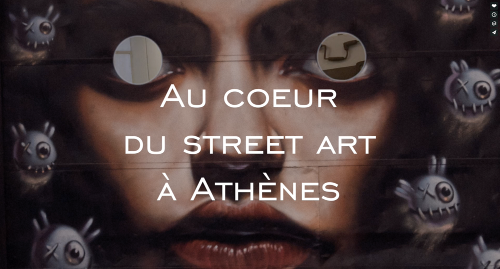 """Snobismes   - Eux Artistes """"Visite arty dans les rues d'Athènes"""" - Janvier 2017"""