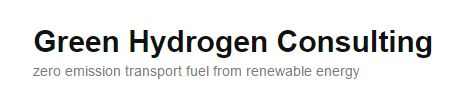 green hydrogen consulting