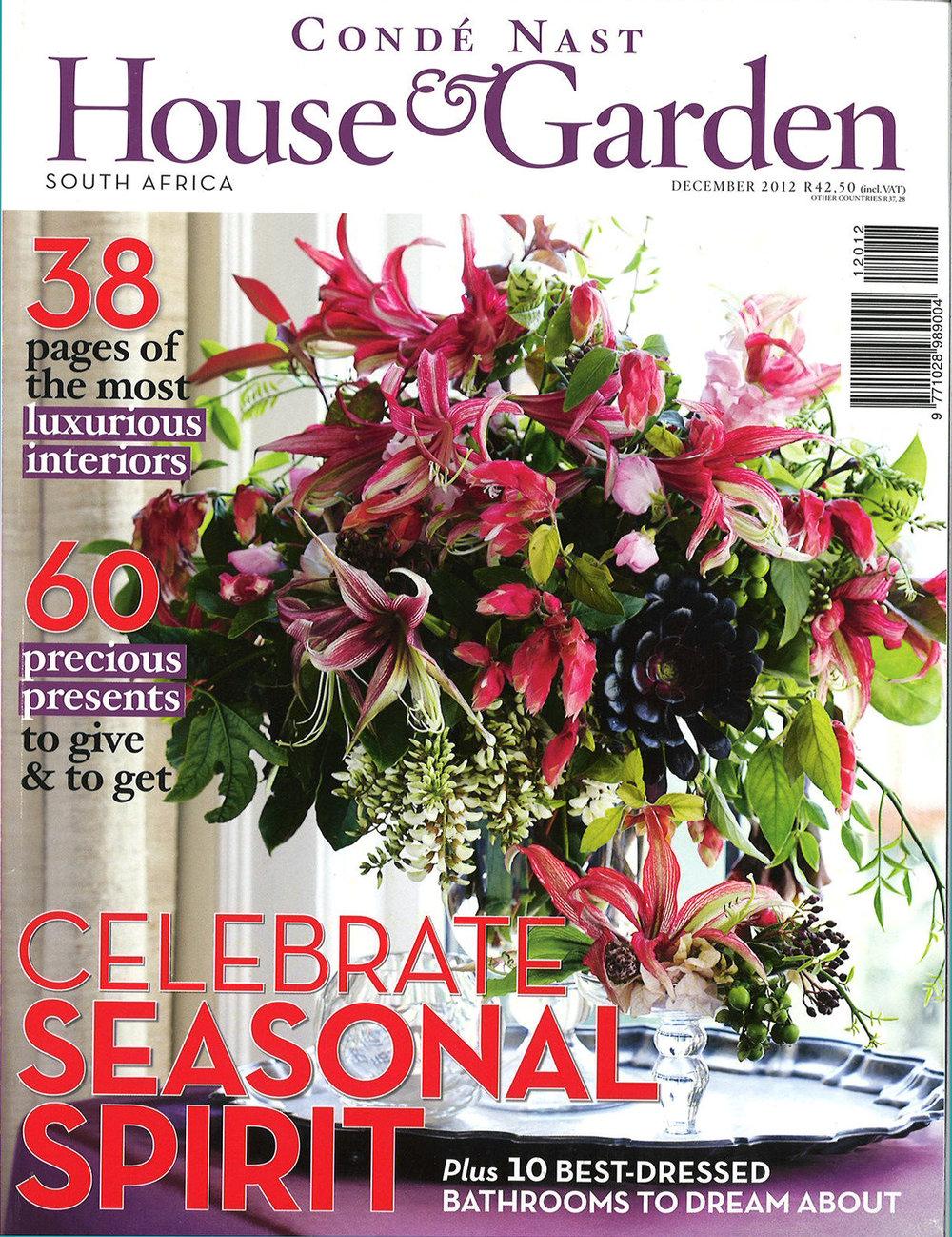 House & Garden South Africa - December 2010