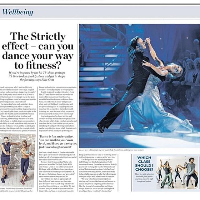 #Repost @chhplondon (@get_repost) ・・・ Dancing your best foot forward? @sophielanephysio explains in @waitroseandpartners weekend, how dance can not only improve your muscular physique but, how it can help improve the brain's cognitive functioning too.  This is one variation of full body conditioning we're not going to miss out on 💃🕺. . #Beyondbetter .