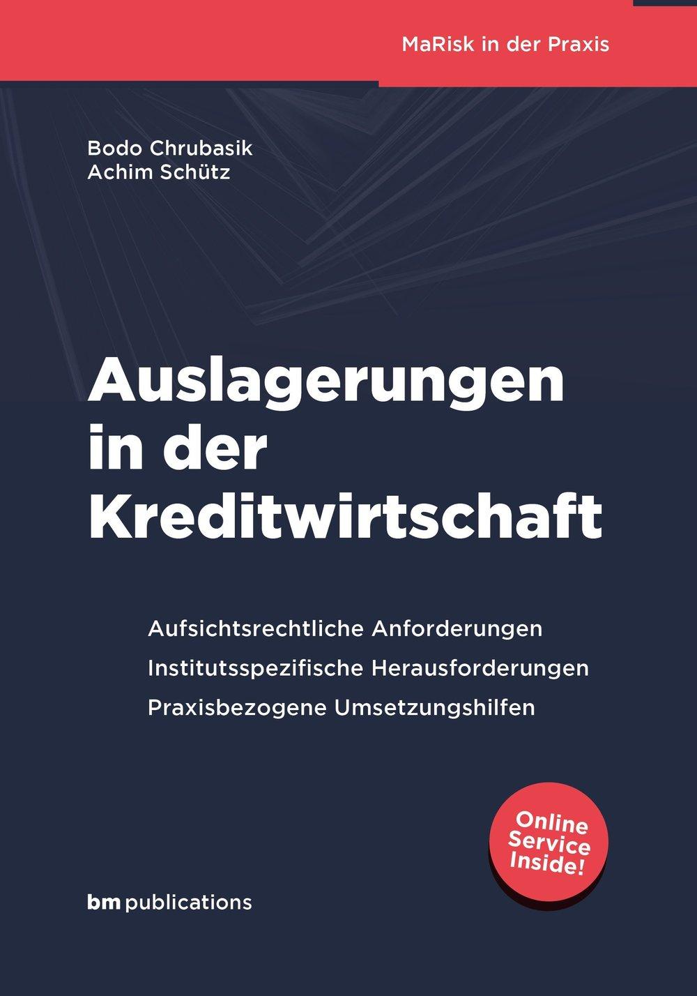Die deutsche Kreditwirtschaft befindet sich in einem substantiellen Wandel und steht vor massiven Umbrüchen und grundsätzlichen Veränderungen. Nicht nur einzelne Geschäftsprozesse, auch komplette Wertschöpfungsketten werden kritisch hinterfragt. Dabei werden Auslagerungen (Outsourcing) von Geschäftsbereichen und Geschäftsprozessen verstärkt als attraktive Alternative wahrgenommen. Im Kontext der MaRisk rücken Outsourcing-Vorhaben damit auch verstärkt in den Fokus von Instituten und Aufsicht.   Das Buch zielt darauf ab, praktische Umsetzungstipps und -alternativen aufzuzeigen:  • aufsichtsrechtliche Anforderungen und Interpretationen konkretisieren  • Neuerungen aus der 5.MaRisk Novelle operationalisieren  • Feststellungen aus Sonderprüfungen nach §44 KWG transparent machen  • Öffnungsklauseln (doppelte Proportionalität) erläutern  • Innovative Ansätze zur Optimierung und Automation der Prozesse vermitteln   Das Buch richtet sich an:  • Verantwortungsträger in der Kreditwirtschaft  • Berater, Prüfer und Revisoren  • Studierende und Kollegen der verschiedenen Bildungseinrichtungen.   Das Buch versteht sich damit als praxisnaher und umsetzungsorientierter Interpretations- und Orientierungsleitfaden für ein erfolgreiches und aufsichtsrechtlich konformes Management von Auslagerungen.   Dr.Bodo Chrubasik ist Experte auf dem Gebiet des Auslagerungsmanagements. Er berät seit Jahren Banken, Leasinggesellschaften und Finanzdienstleister auf dem Gebiet der MaRisk und begleitete diverse Sonderprüfungen nach §44 KWG.   Achim Schütz ist Praktiker und Management-Berater. Er berät Banken und Finanzdienstleister im Rahmen der Auslagerung von Geschäftsprozessen, organisatorischen Veränderungen und Fragestellungen zu den qualitativen Prozessen der MaRisk.