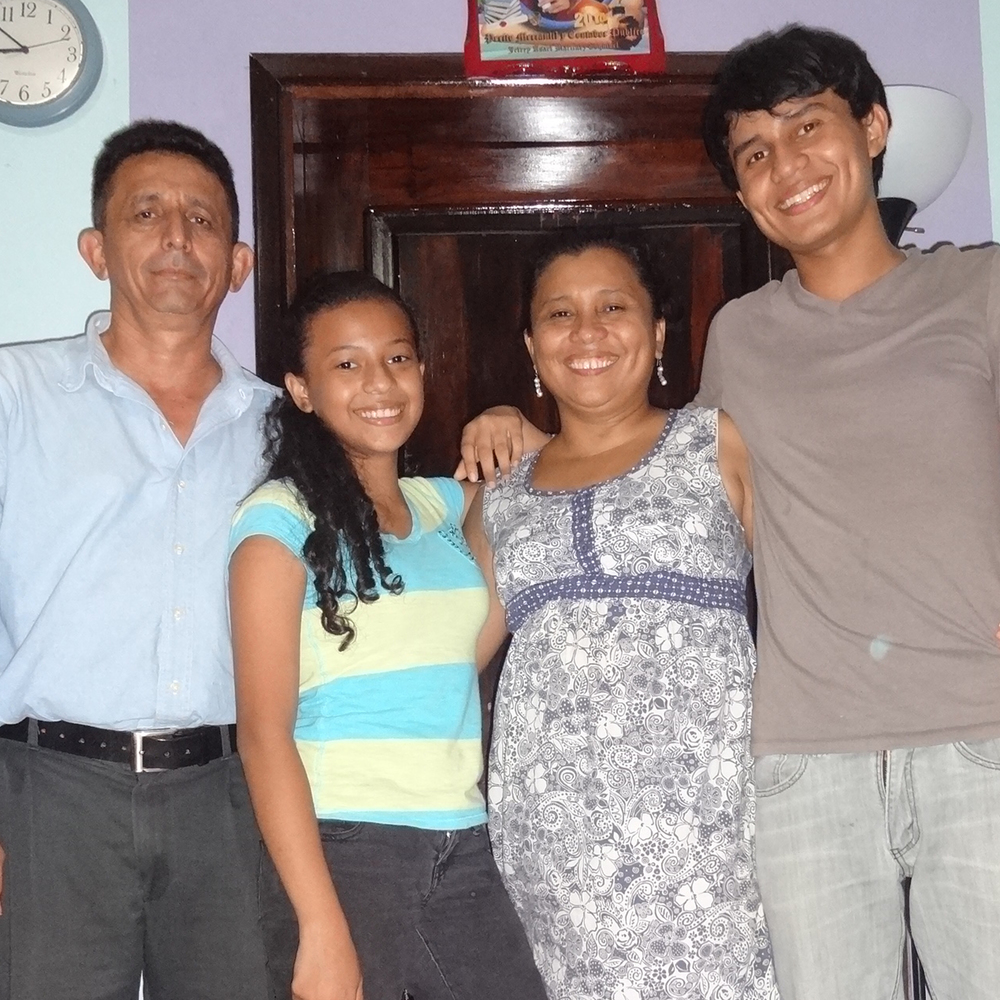 The Martinez Family -  Honduras