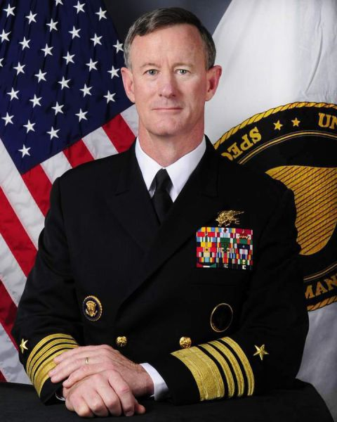"Admiral William ""Bill"" McRaven"
