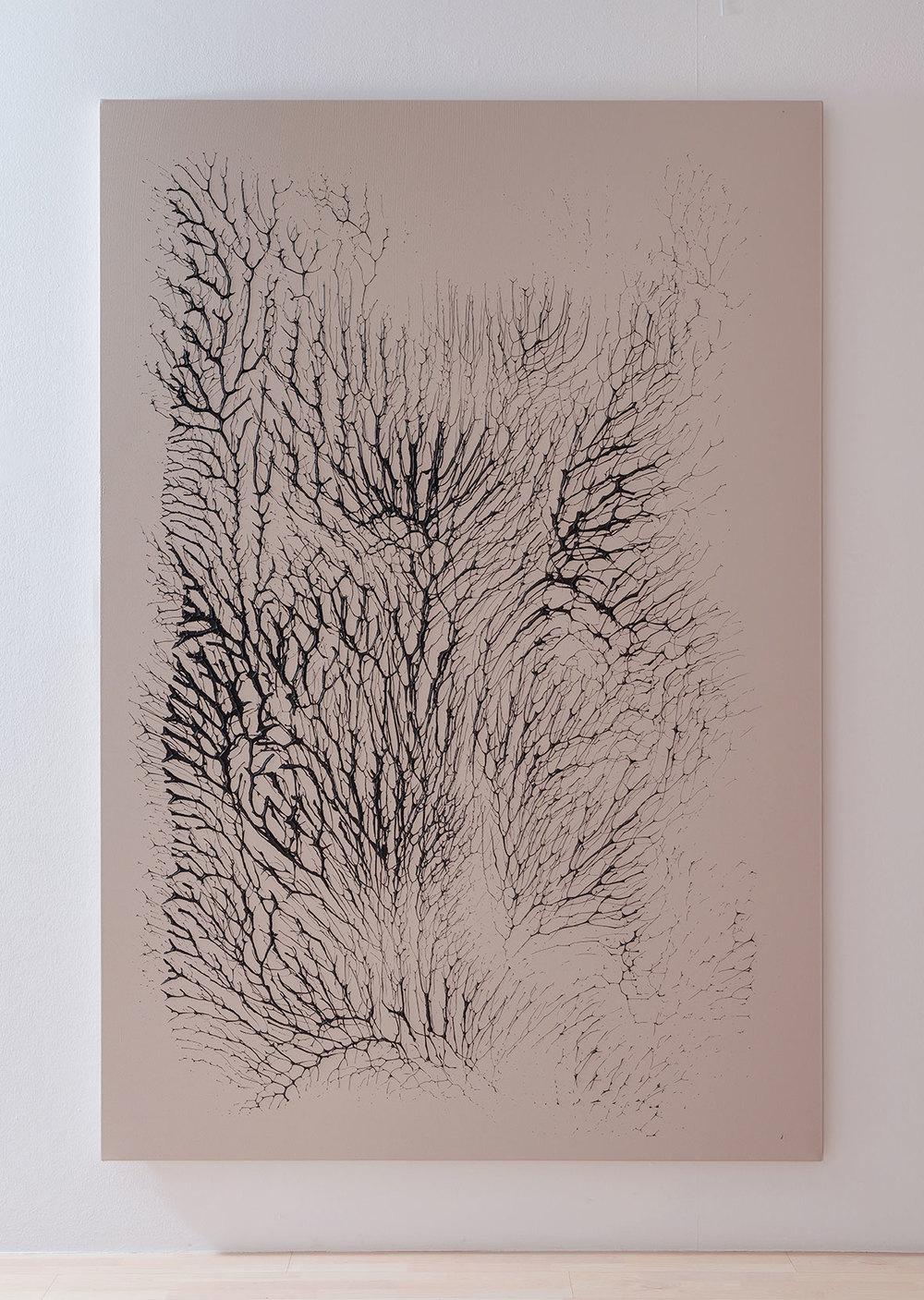 ROCA2012 Monotypes. Acrylic on canvas. 174cm x 256cm. (6´x8´).