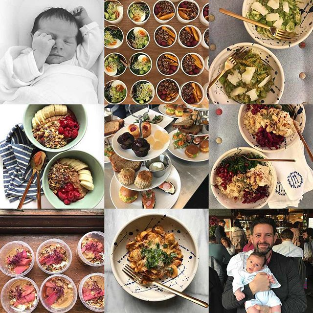 #2017bestnine what a year.... finally taking hackney pantry full time and creating food for some amazing events but really how can anything compare to the birth of our little boy 🌍 the best year of our lives yet 😊💕 Happy new year everyone hope 2018 is a wonderful year! . . #bornin2017 #babyboy #newmum #newfamily