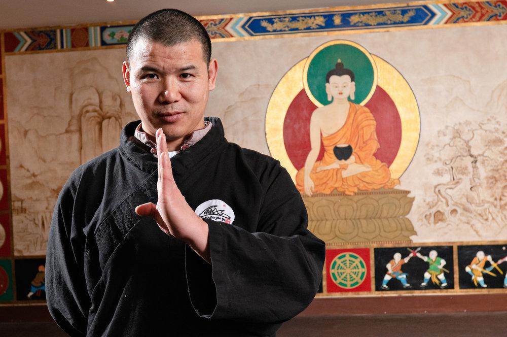 shaolin temple teacher Shifu yanzi