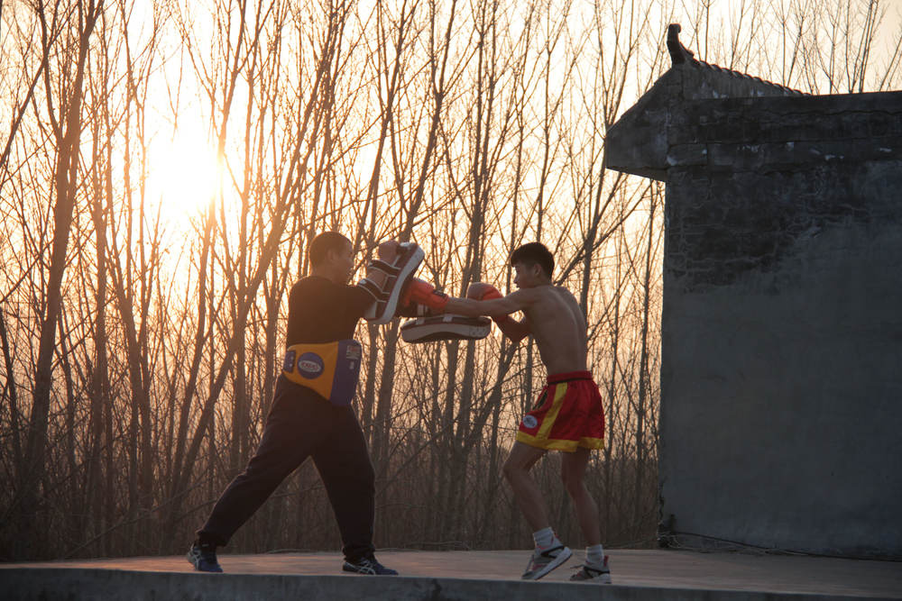 sun set shaolin temple school