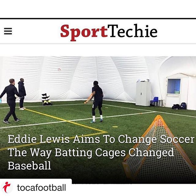 Proud to be a part of the TOCA family. We are improving the way players train and they are seeing the results on the pitch.  #soccerpractice #soccer #soccerlife #firsttouchiseverything