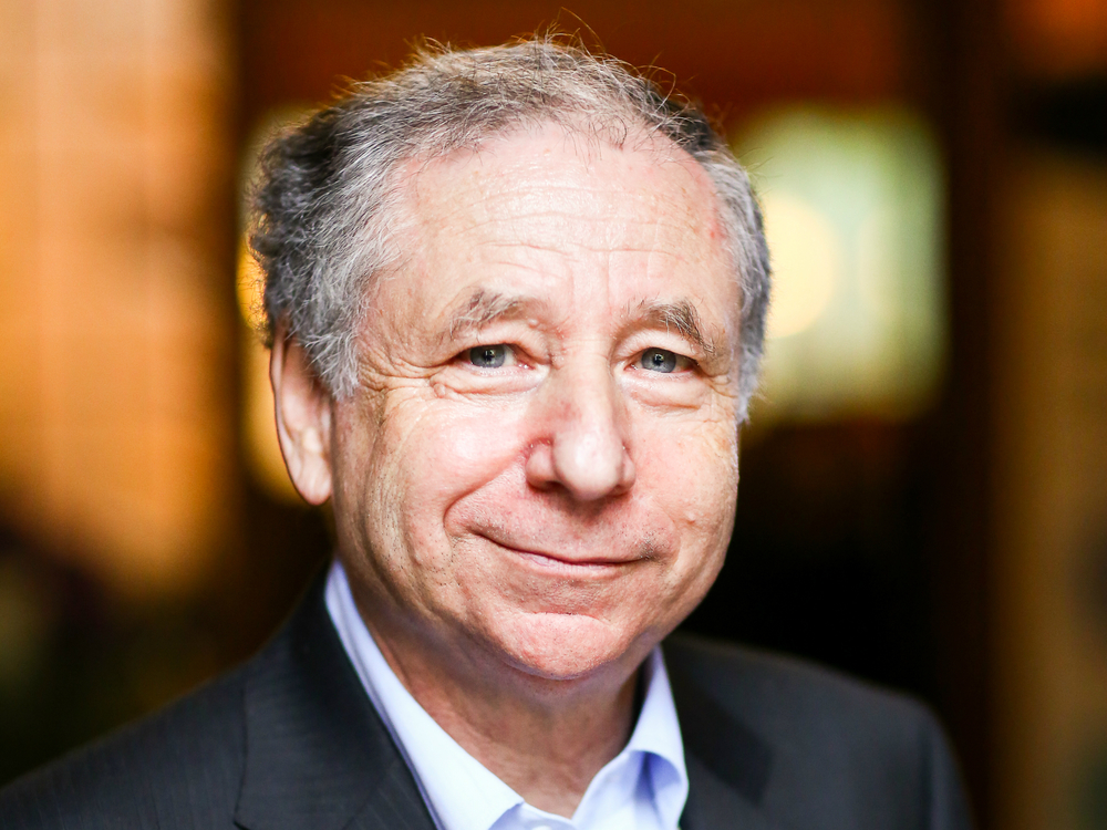 Jean Todt - President of Fédération Internationale de l'AutomobileUN Special Envoy for Road Safety