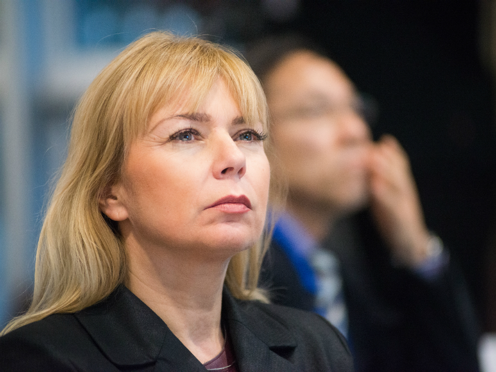 Elżbieta Bieńkowska  European Commissioner for Internal Market, Industry, Entrepreneurship and SMEs