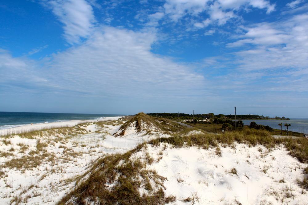 view-gulf-bay-cape-san-blas-florida