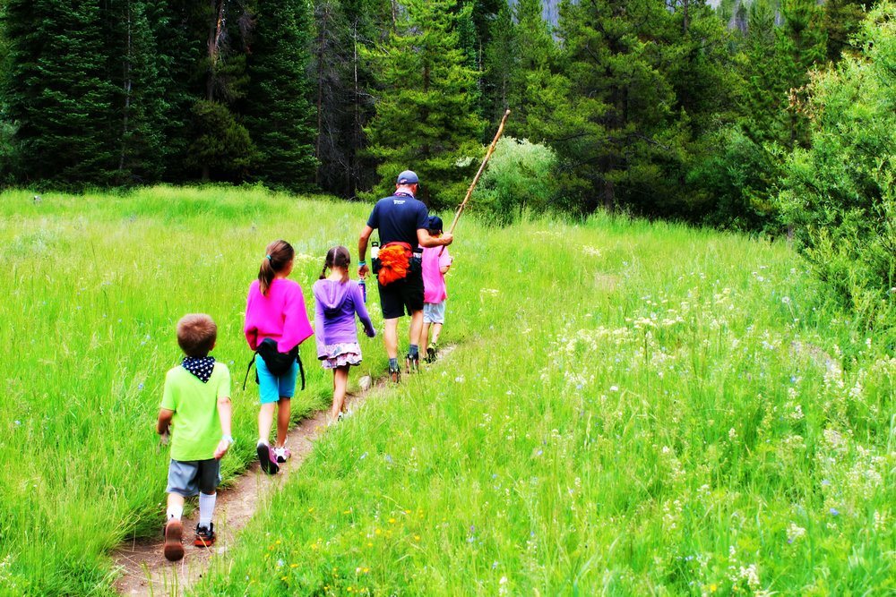 The best place to stay in a yurt is at YMCA of the Rockies - Snow Mountain Ranch in Granby, Colorado.  Near Rocky Mountain National Park, hiking, fishing, summer sledding, horseback riding, and much more are yours for a fun family vacation.