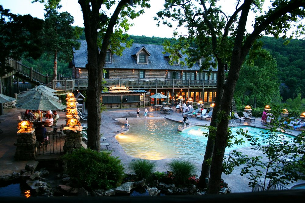 Big Cedar Lodge: a gorgeous, rustic family resort in the Ozark Mountains on Table Rock Lake near Branson, Missouri. Outdoor fun and indoor luxury at its best.