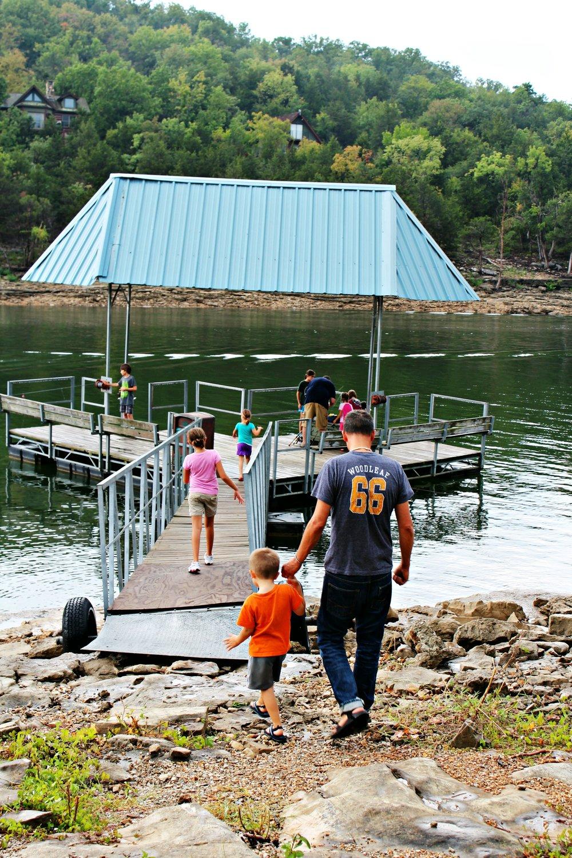 fishing dock big cedar table rock lake