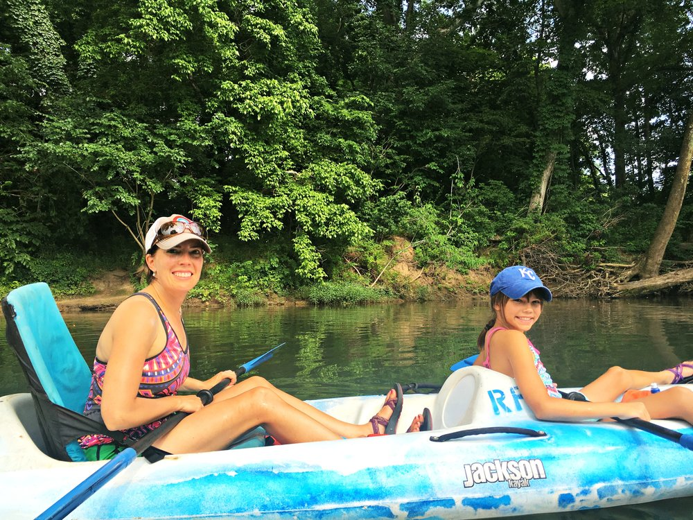 double kayak niangua riverfront campground rental
