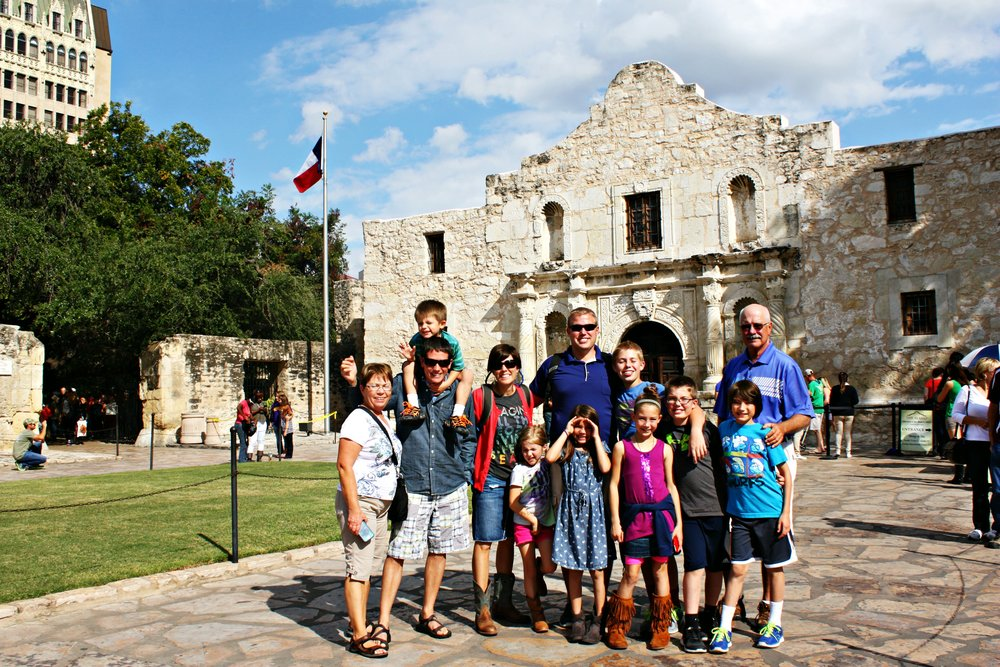 Choose  San Antonio for a fun multi-generational trip! See the Alamo, visit Sea World, and stroll the River Walk. Restaurants, shops, art galleries, and nature flank the River Walk as it twists and turns under bridges - a tourist attraction all of its own one story beneath the city's streets.