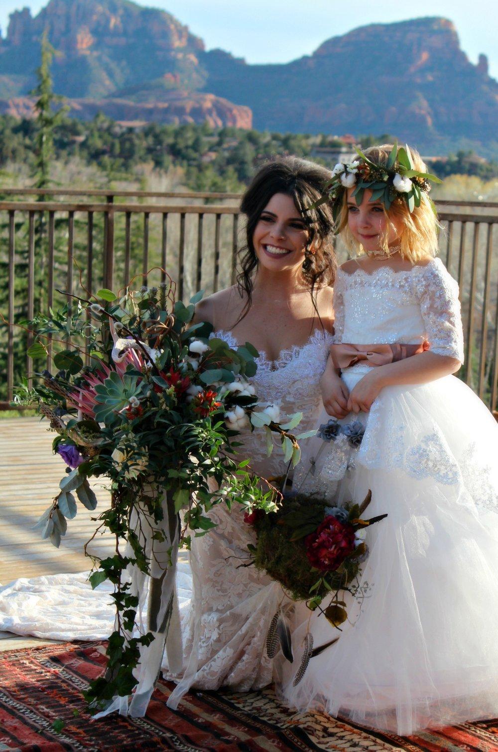 bride-flower-girl-l'auberge-wedding